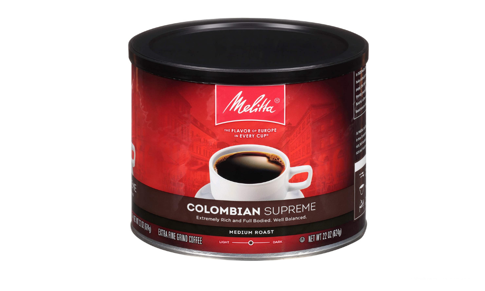 Melitta Colombian Supreme Coffee, Medium Roast