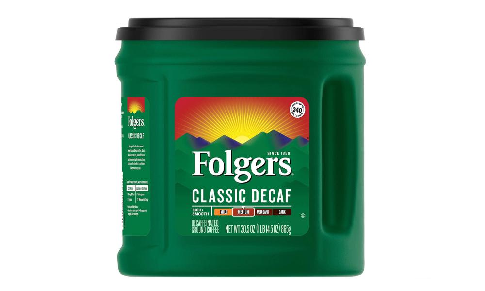 Folgers: Classic Decaf Medium Roast Ground Coffee