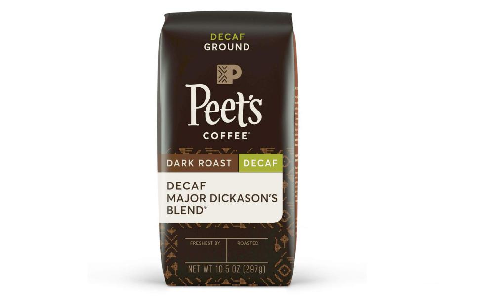 Peet's Coffee: Major Dickason's Blend Decaf (Dark Roast)