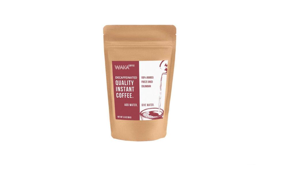 Waka Coffee: Decaffeinated Quality Instant Coffee (Medium Roast)