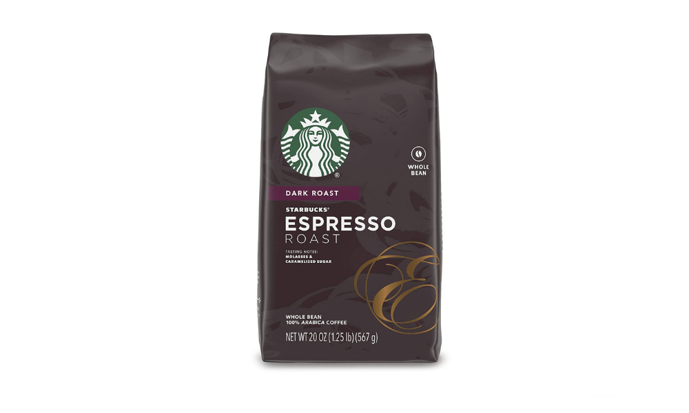 Starbucks Espresso Dark Roast Whole Bean Coffee