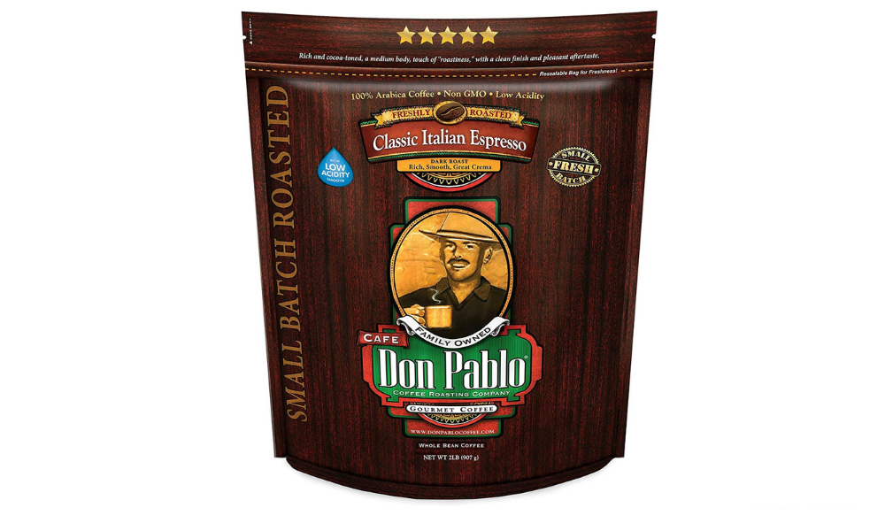 Café Don Pablo Gourmet Italian Espresso Medium Dark Roast Coffee
