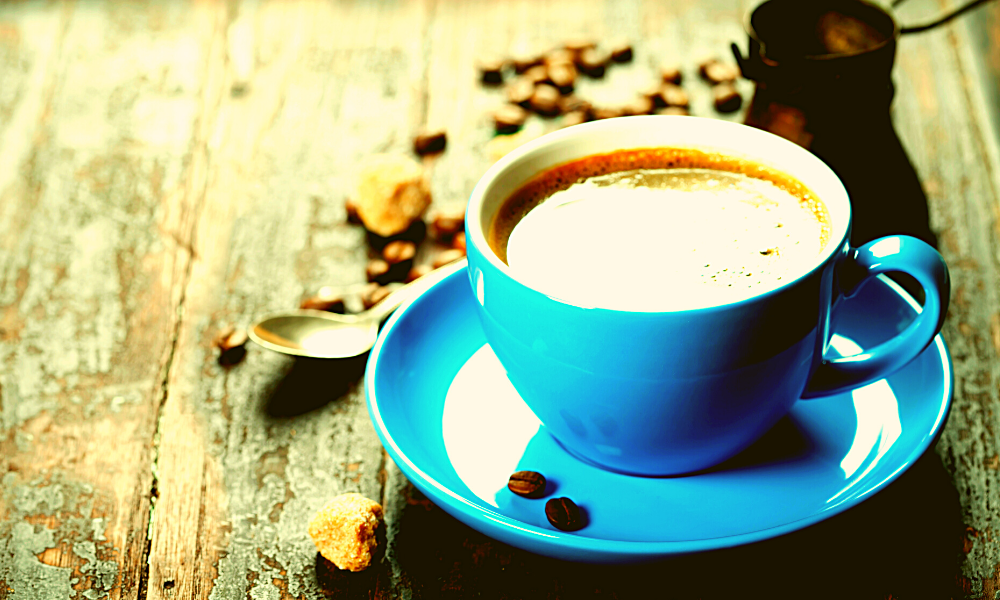how many calories are in a cup of coffee