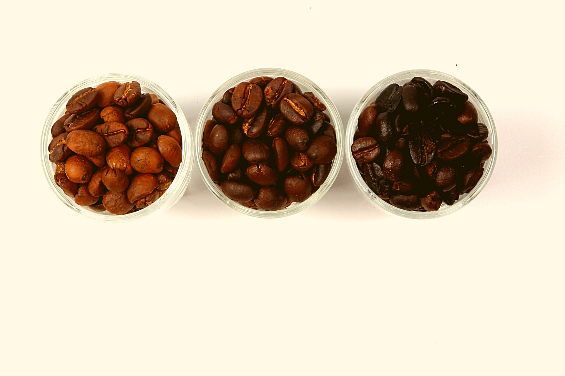 different types of coffee roasts