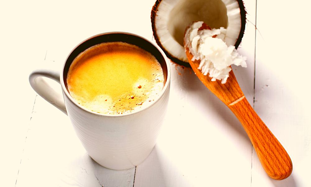 Coconut Oil in Coffee