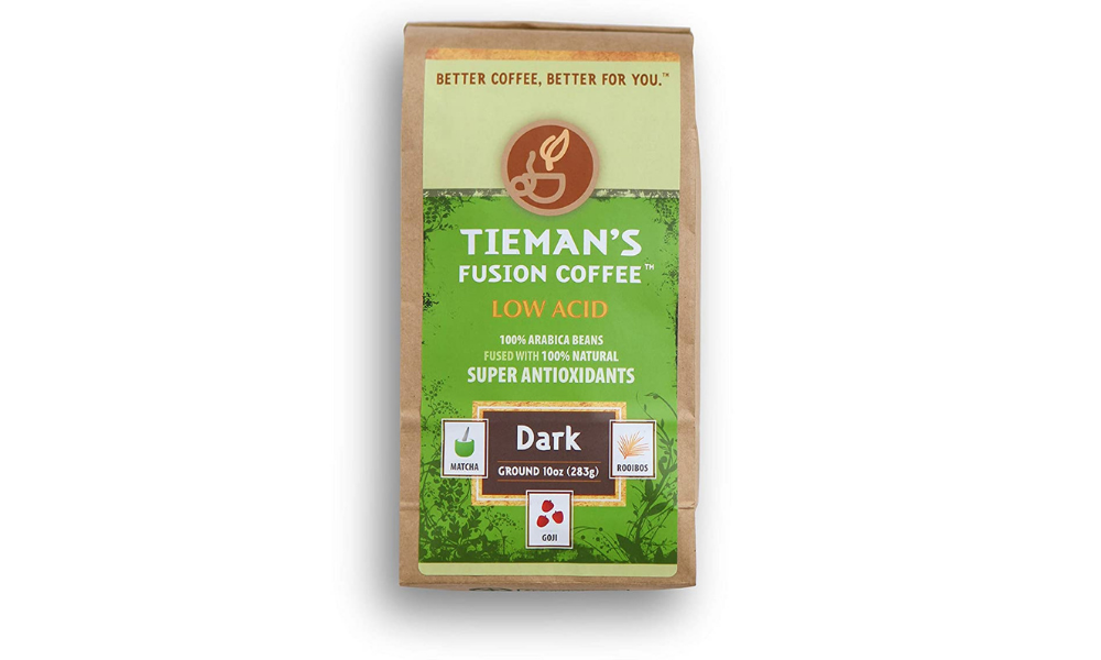 Tieman's Fusion low acid coffee