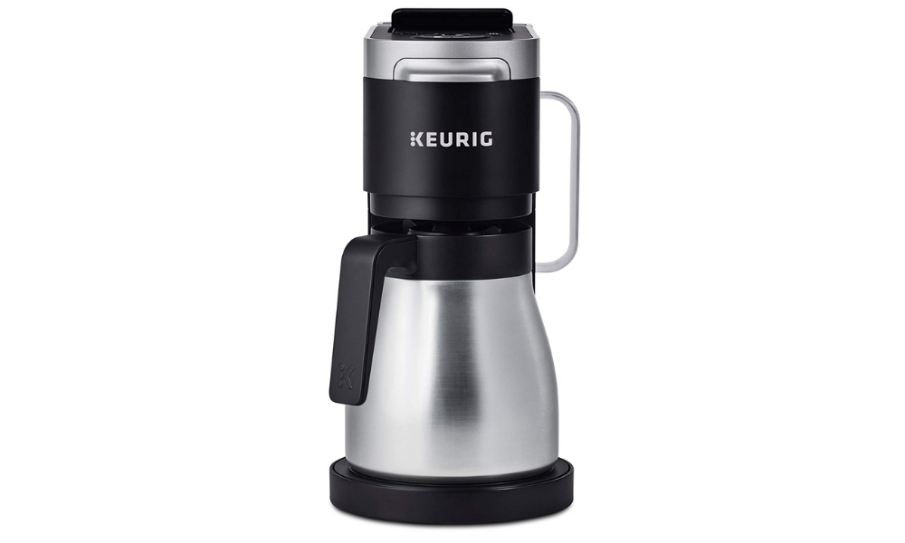 KEURIG K-DUO PLUS DUAL COFFEE MAKER WITH K CUP