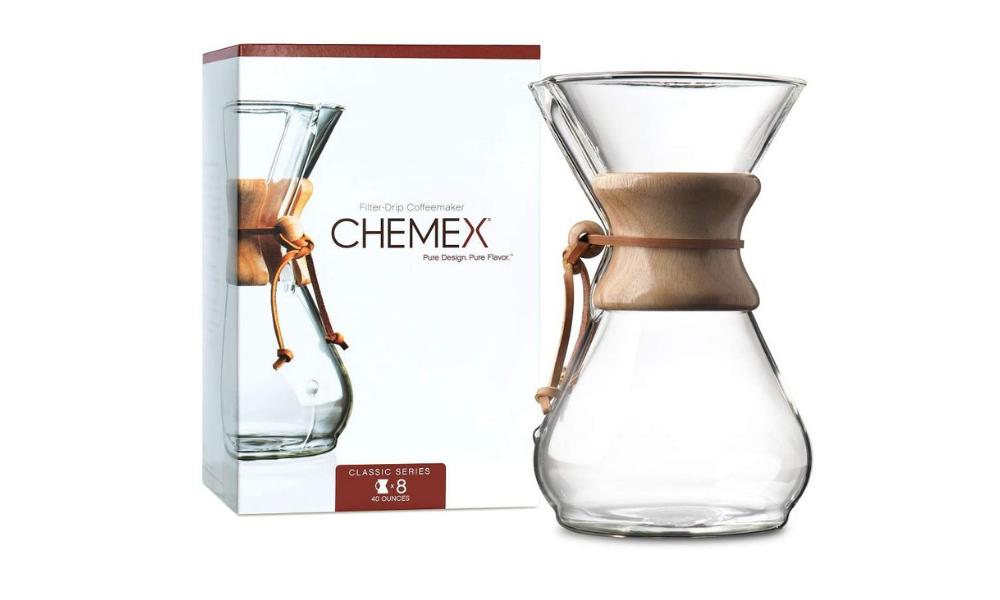 Chemex pour-over espresso