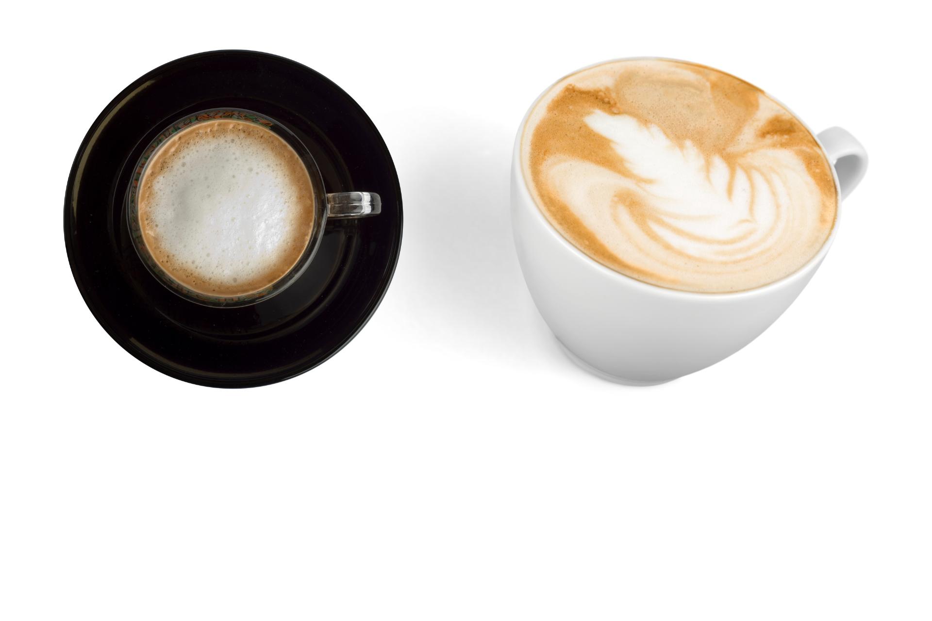 Macchiato vs Cappuccino