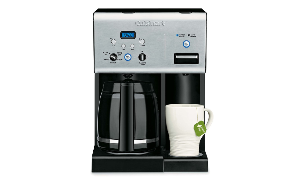 CuisinartCoffee Maker With Hot Water System