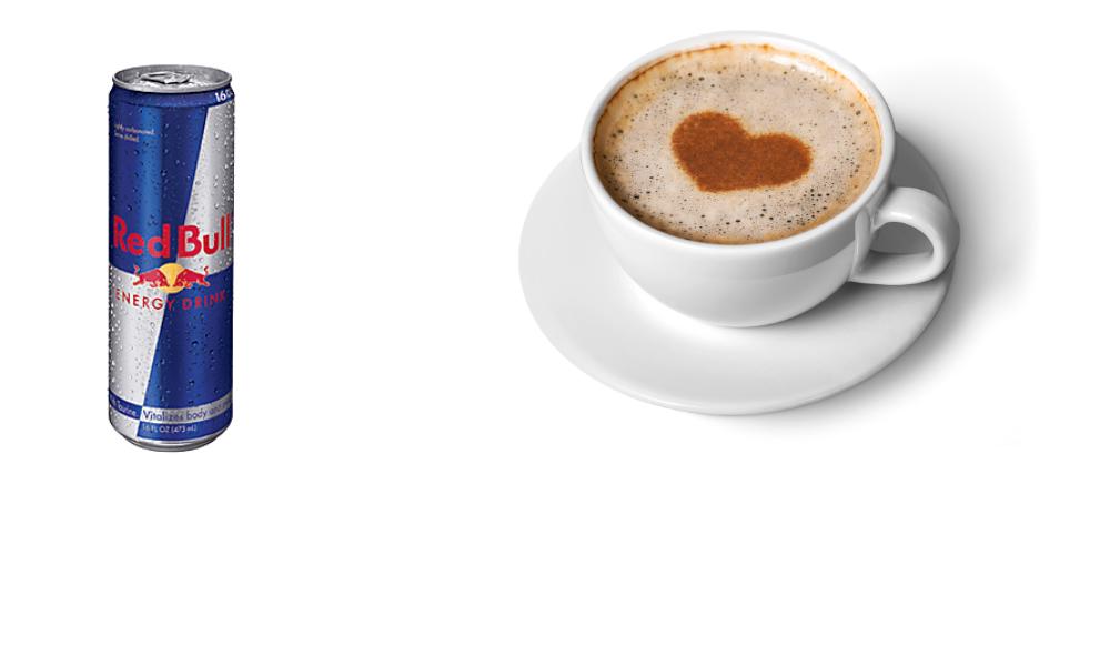 Coffee vs Red Bull