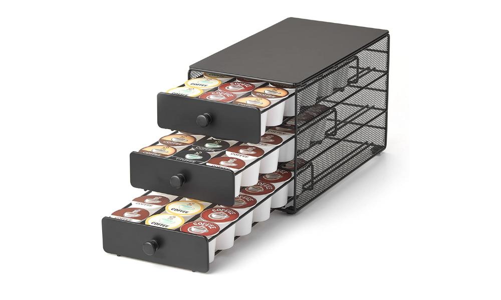 Nifty 3-tier Large Capacity Pod Holder