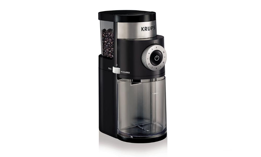 KRUPS 8000035978 GX5000 Professional Electric Coffee Burr Grinder